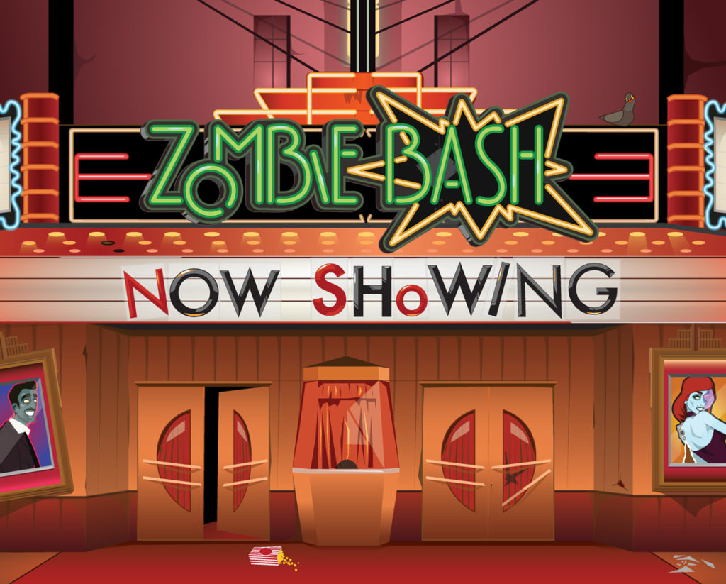 Zombie Bash Game Design & Artwork